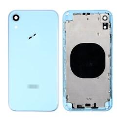 Πίσω Καπάκι με Πλαίσιο - Back Cover Housing για iPhone XR Γαλάζιο
