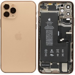 Apple iPhone 11 Pro Max Battery Cover - Πίσω καπάκι γνήσιο- Refurbished original Χρυσό