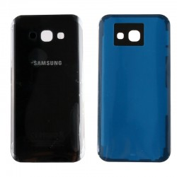 SAMSUNG GALAXY A5 2017 A520 BLACK BATTERY COVER - ΜΑΥΡΟ ΚΑΠΑΚΙ ΜΠΑΤΑΡΙΑΣ